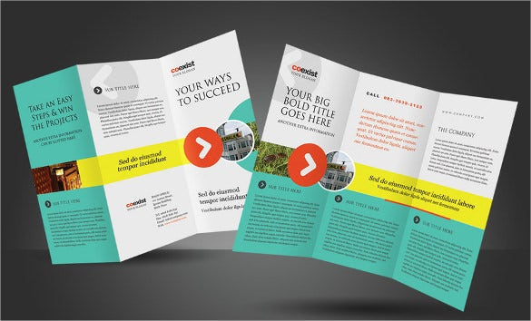 best brochure template for corporate