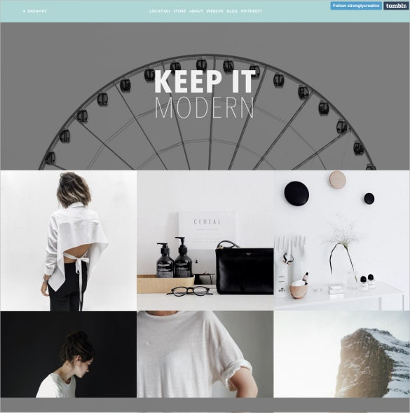 creative tumblr theme 19