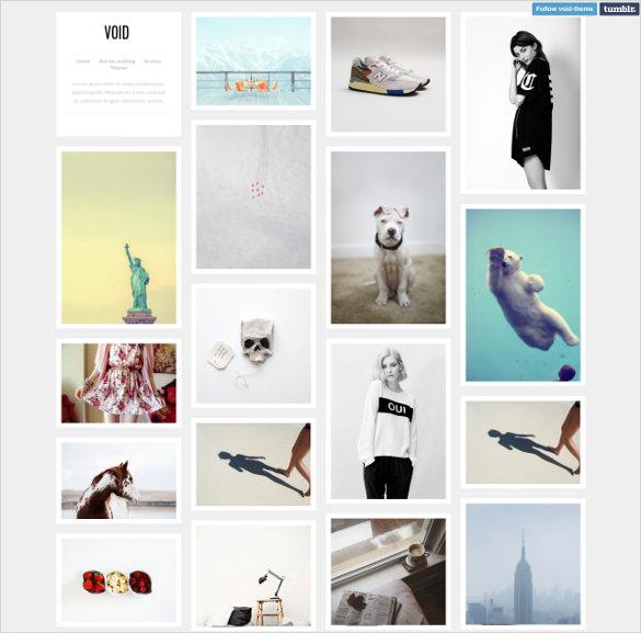 free portfolio tumblr theme1