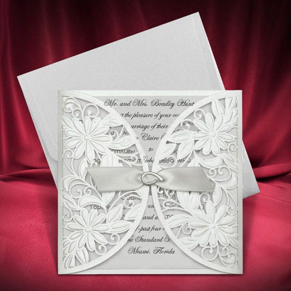 beautiful wedding card download