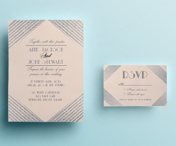 professional wedding card download