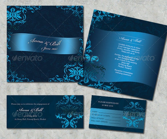 wedding card desgin in multicolrs