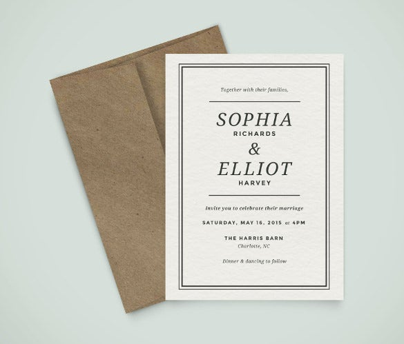 cororate wedding card design download