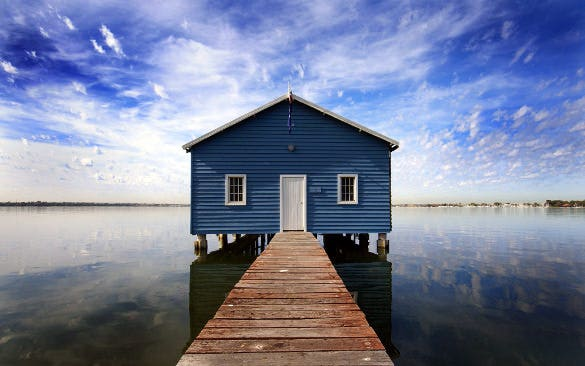 dock water hd background download