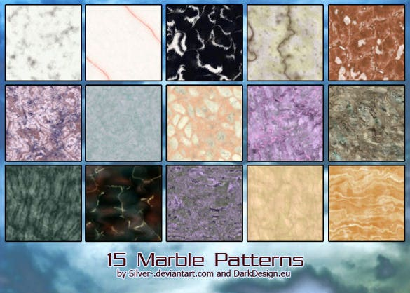 14 silver marble patterns download
