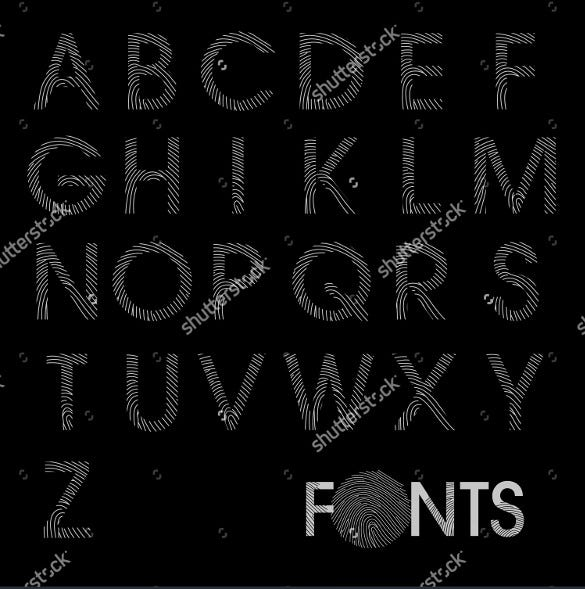 regular alphabet best font