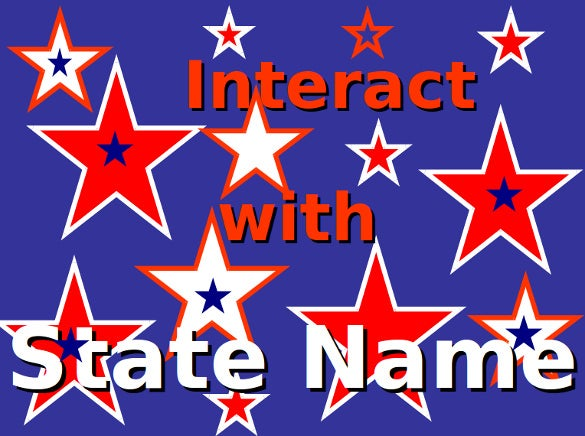 interactive state map blank powerpoint game download