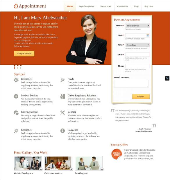 24+ Easy Website Themes & Templates  Free & Premium Templates