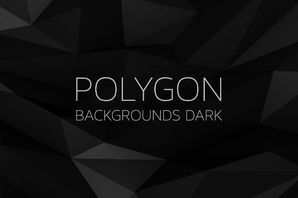 polygon dark background for download