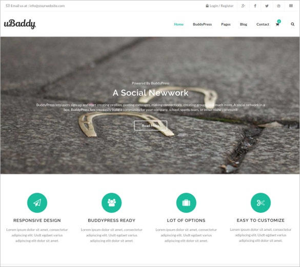 multipurpose buddypress wordpress theme 29