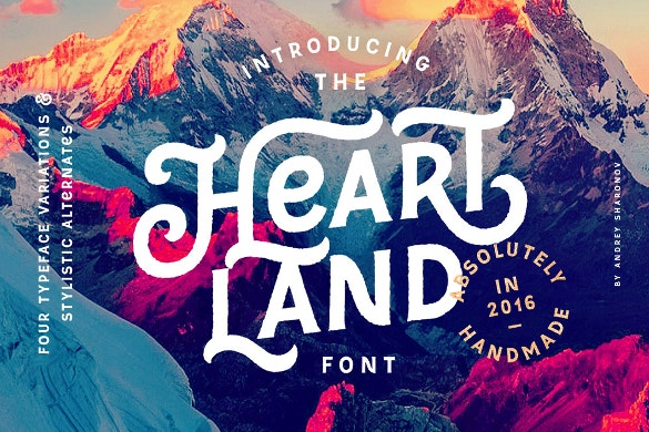 american typography ttf font download