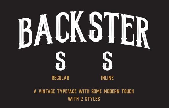 vintage typography font otf download