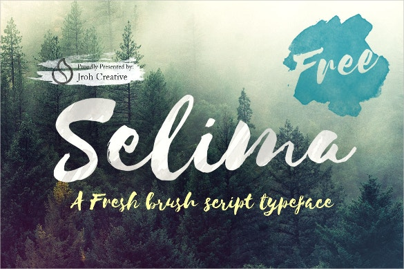 selima free font download