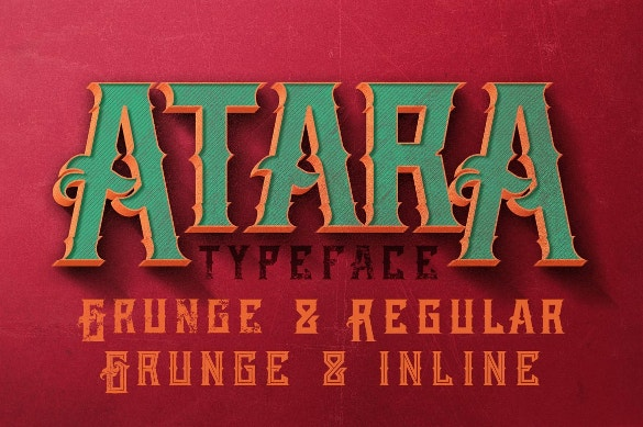 grunge typography otf download