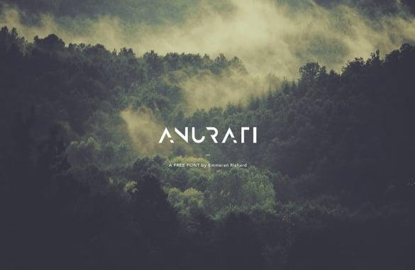 free download anurati font
