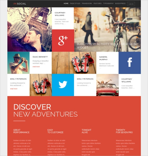 social media wordpress theme 39