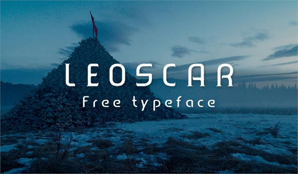 leoscar font download for free