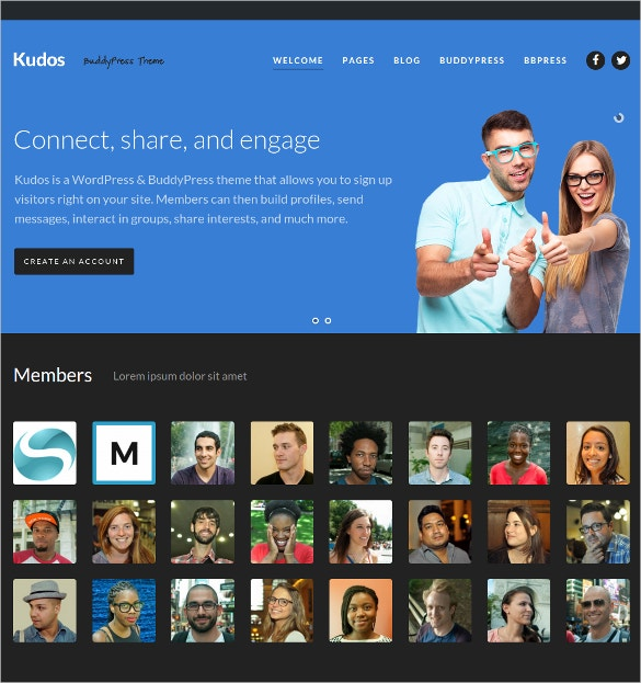 group community buddypress theme 64