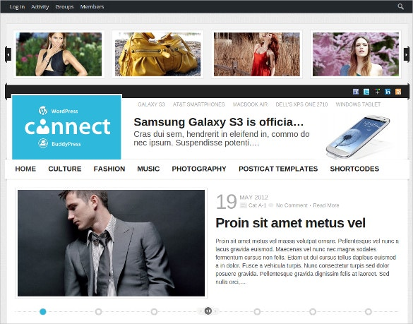 community connect buddypress theme 59