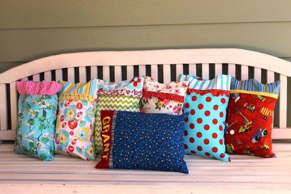 6 trim styles pillowcase patterns download