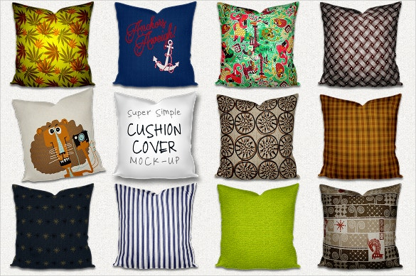 9 throw pillowcase cushion pattern set download