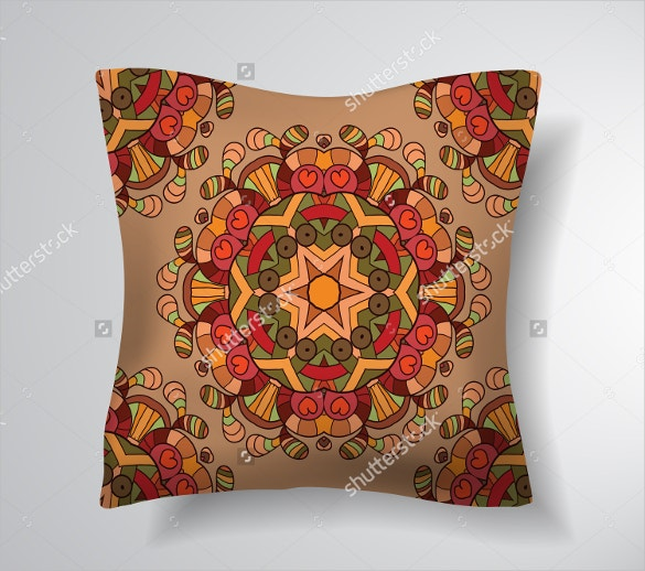 decorative pillowcase pattern design