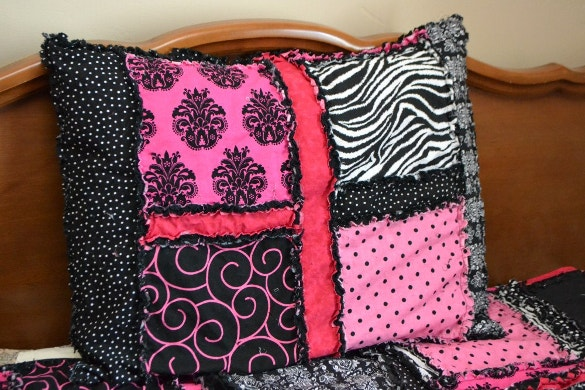 rag quilt pillowcase pattern download