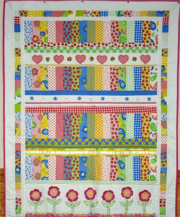 strawberry jelly quilt pillowcase pattern download