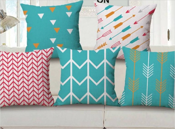 turquoise arrow pillowcase pattern download