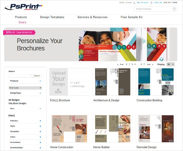 make brochures for free