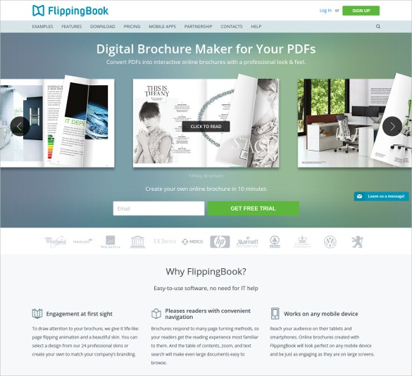 Free Brochure Maker Tools To Create Your Own Brochure Design - Free printable brochure templates online