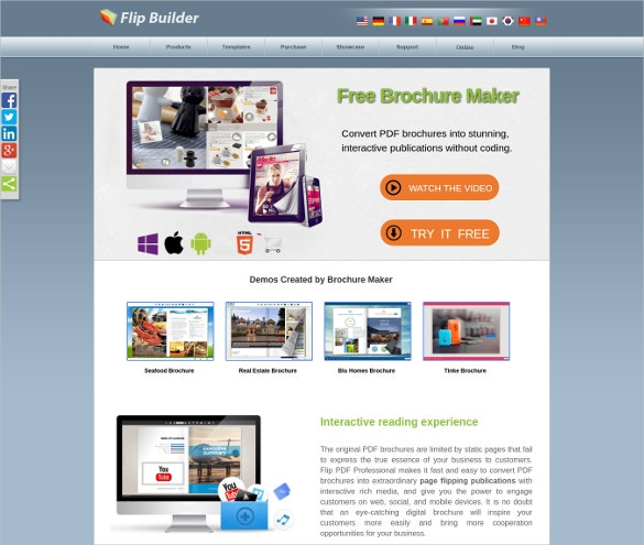 easy brochure maker