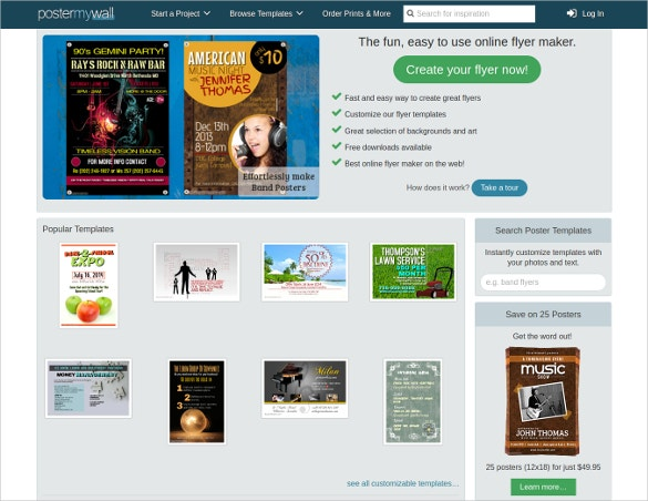 23 free brochure maker tools to create your own brochure for Blueprint creator online free