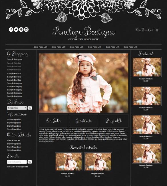 29+ Boutique Website Themes & Templates | Free & Premium Templates