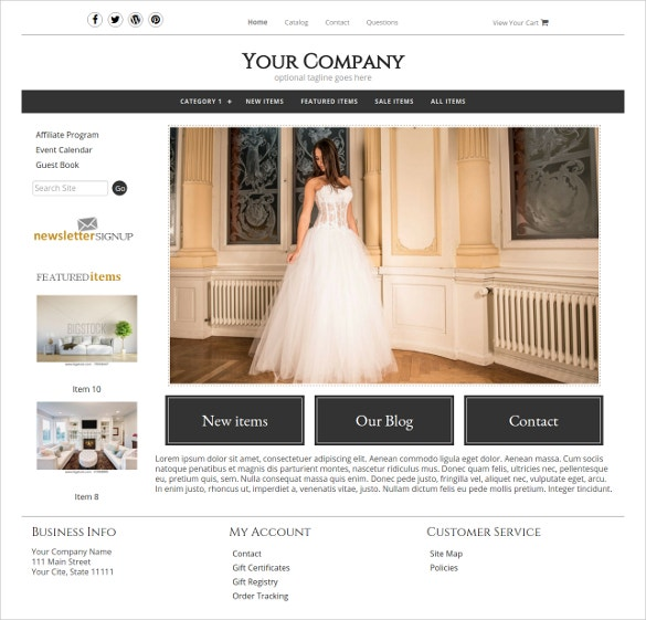 19  boutique website themes  u0026 templates