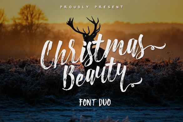 christmas beauty bold font otf download