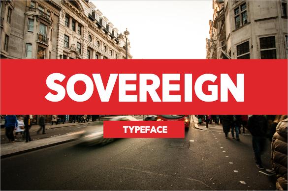 sovereign bold font otf download