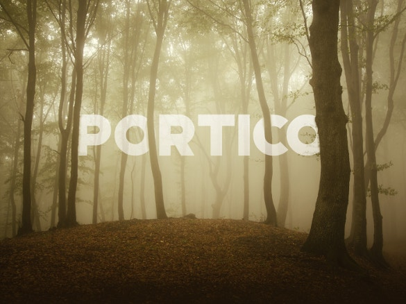 portico free font download
