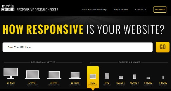 responsive design checker testing tool