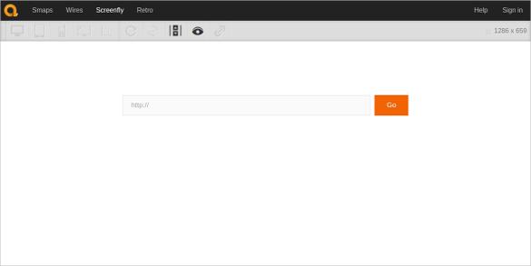 screenfly quirktools responsive testing tool