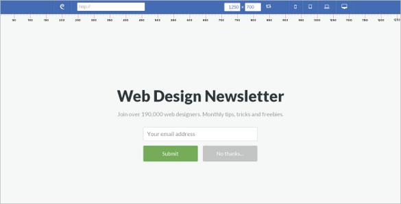 designmodo responsive testing free tool