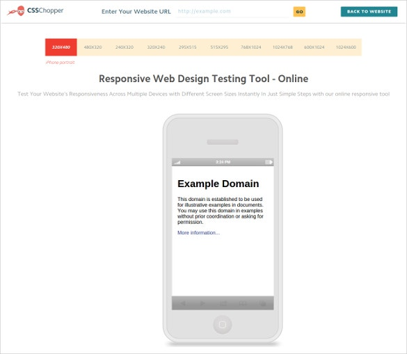 website responsive test web design testing tool online