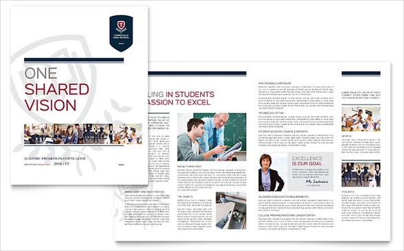 the high school word brochure template for colleges download is a brochure exclusively crafted for the educational institutions and for academic purposes
