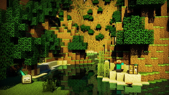minecraft backgrounds free download