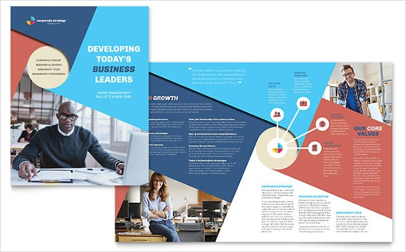 Corporate Brochure Template Word