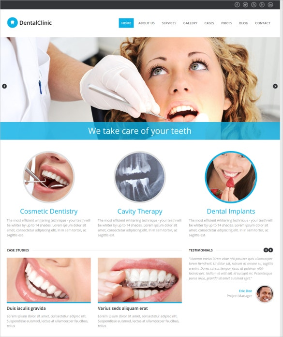 36 Dental Website Themes Amp Templates Free Amp Premium
