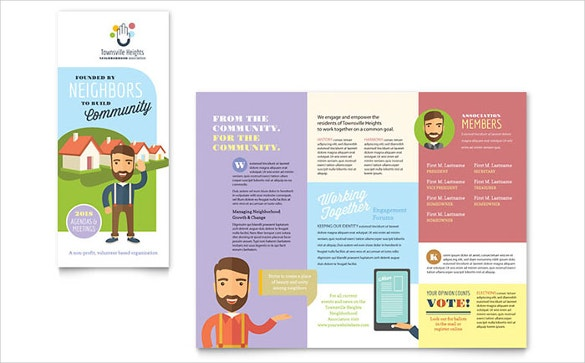 downloadable brochure templates - brochure template word 41 free word documents download