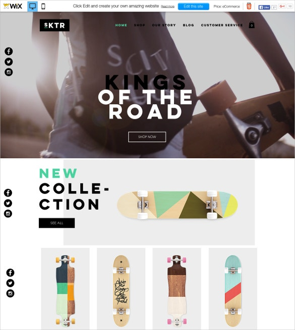 46  best wix themes  u0026 templates