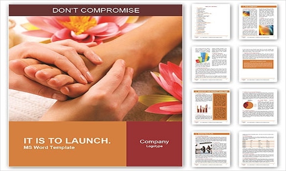 Brochure template word 41 free word documents download for Massage brochure template