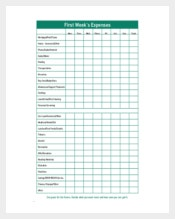 CCDS Monthly Budget Tracker Free PDF Format Download